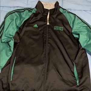 Mens Celtics Jacket Large